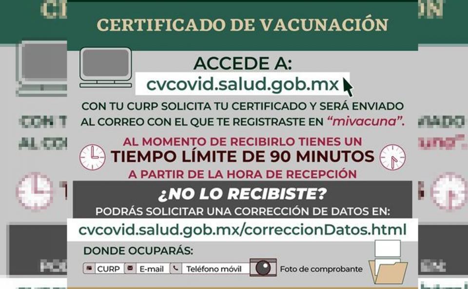 Cómo solucionar el error para obtener certificado de vacuna