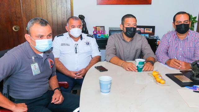 Evalúan autoridades resultados en seguridad en la región