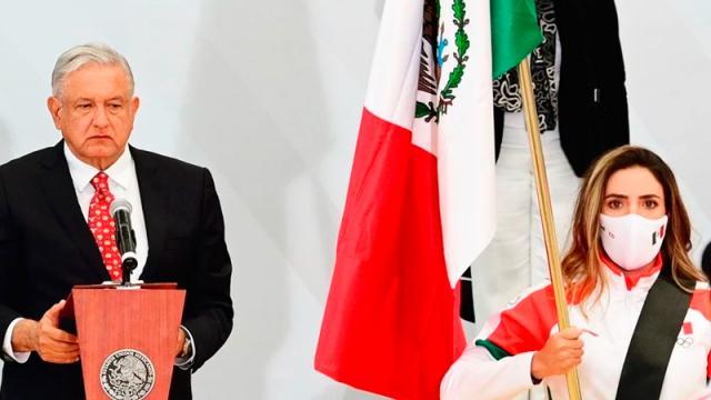 Orgullosa por ser la abanderada mexicana en Tokio 2020: Gaby López
