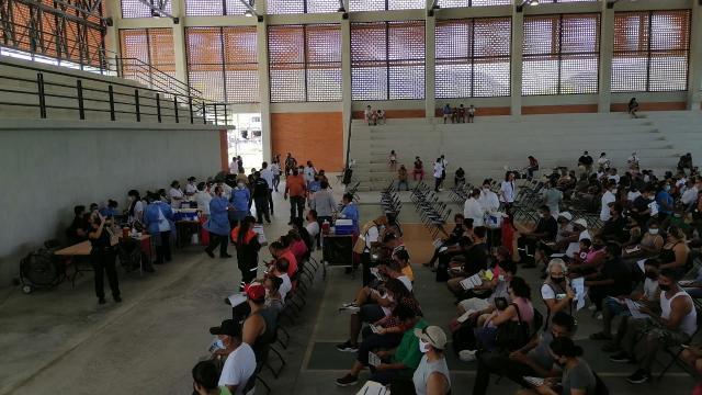 A las 2 de la tarde concluye hoy vacunación en La Lija