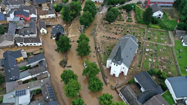 Alemania registra al menos 103 muertos por inundaciones