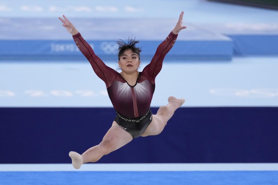 Alexa Moreno clasifica a la final
