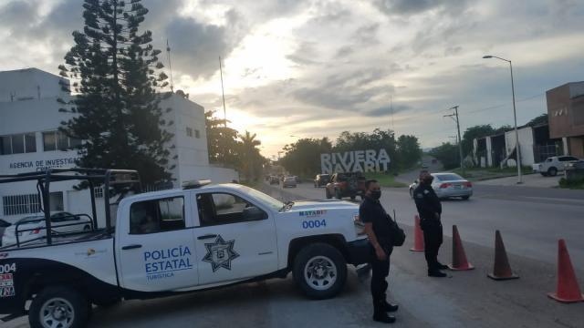 Autoridades estatales al cuidado de las fronteras en Nayarit