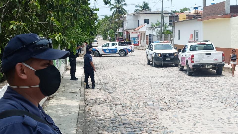 Balacera en Ixtapa