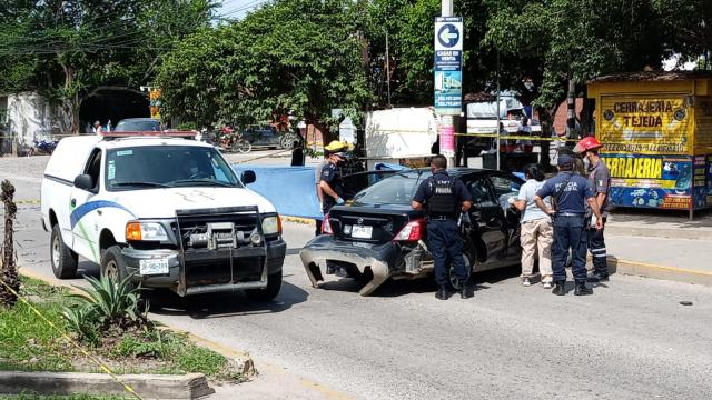 Chofer de Uber asesinado en colonia Tamarindos.