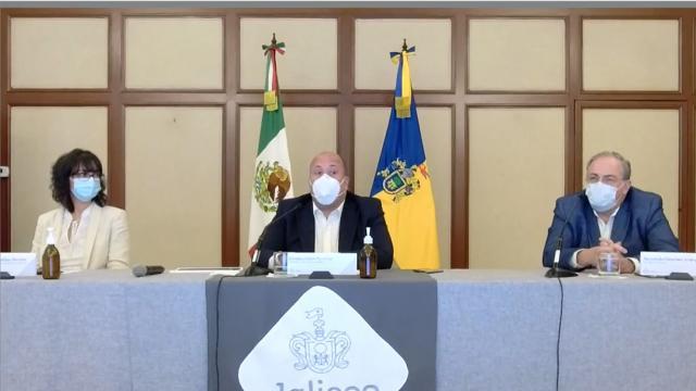 Confirma Alfaro que hospitales de Jalisco no están rebasados