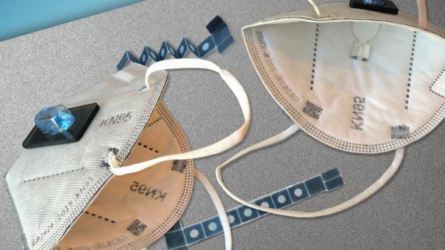Cubrebocas capaz de detectar el Covid-19
