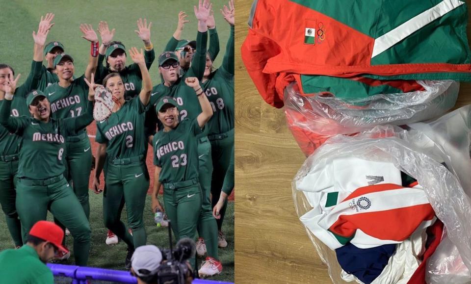 Denuncian a selección mexicana de Sóftbol de tirar uniformes