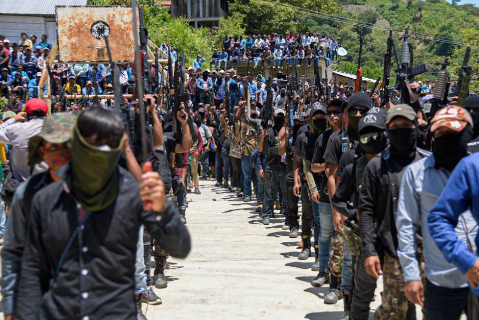 Aparecen Autodefensas en Chiapas