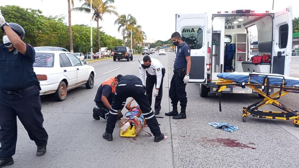 Fallece indigente atropellado en carretera federal 200