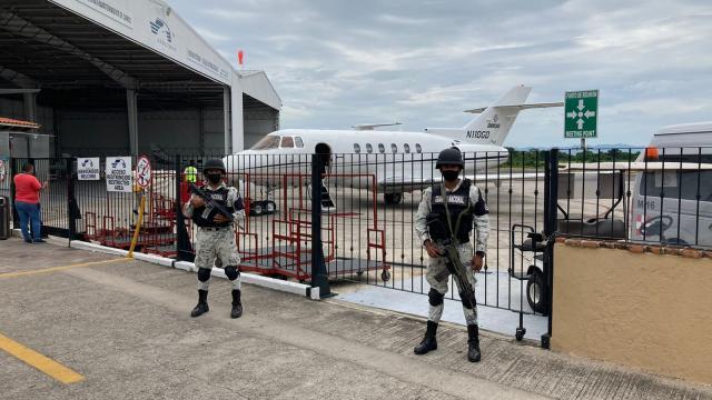 GN releva a Ejército en Aeropuerto de Puerto Vallarta
