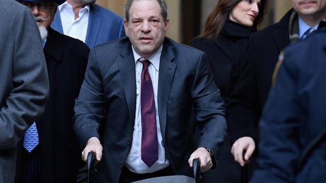 Harvey Weinstein en Tribunal de Los Ángeles