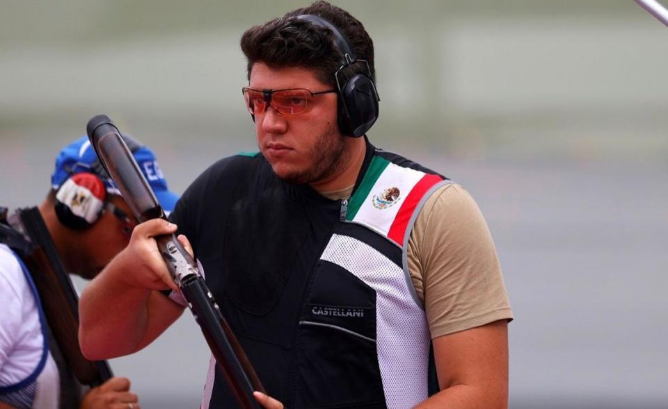 Jorge Orozco terminó en cuarto lugar en tiro de fosa