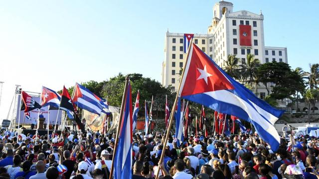 Protestas históricas en cuba