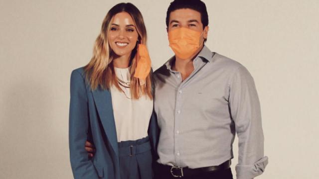 Mariana Rodríguez y Samuel García