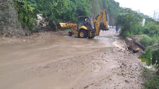 Se registra deslave en Palmares