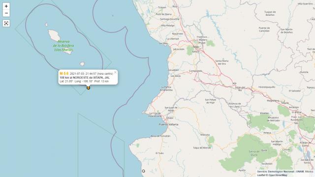 sismo del 3 de julio vallarta