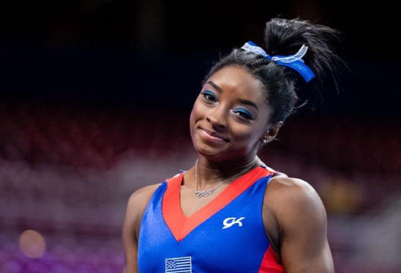 Simone Biles gimnasta estadounidense