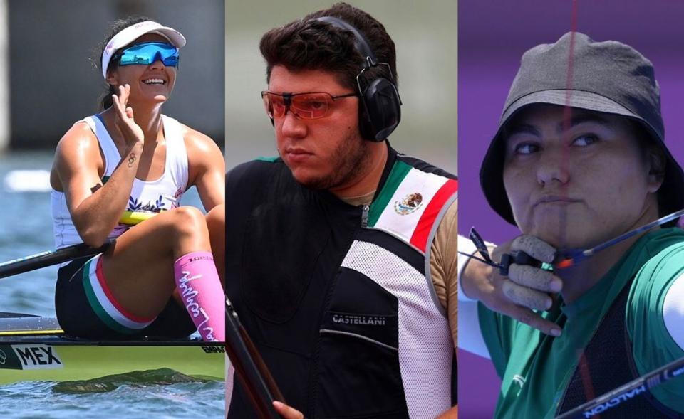 Atletas mexicanos Tokio 2020 Día 7
