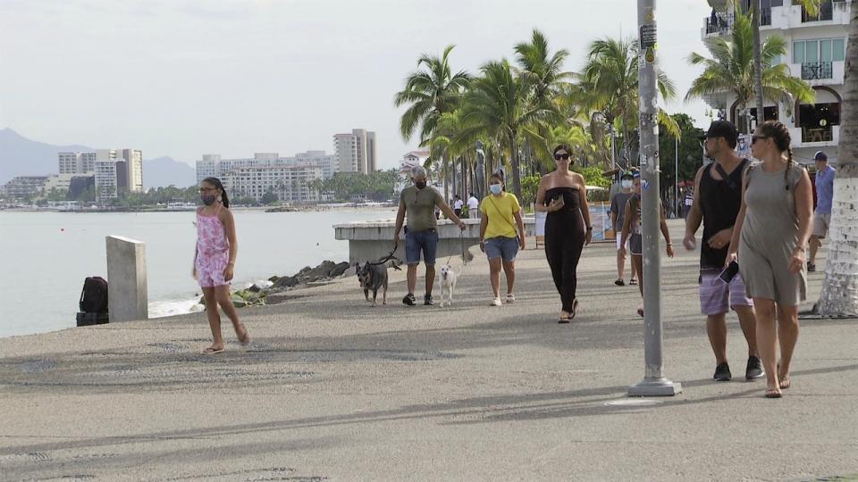 Turistas no respetan protocolos de sanidad en zona turística