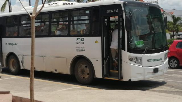 Unibus sin aire acondicionado