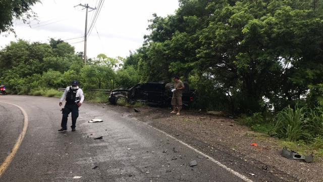 Accidente en la Carretera Federal 200
