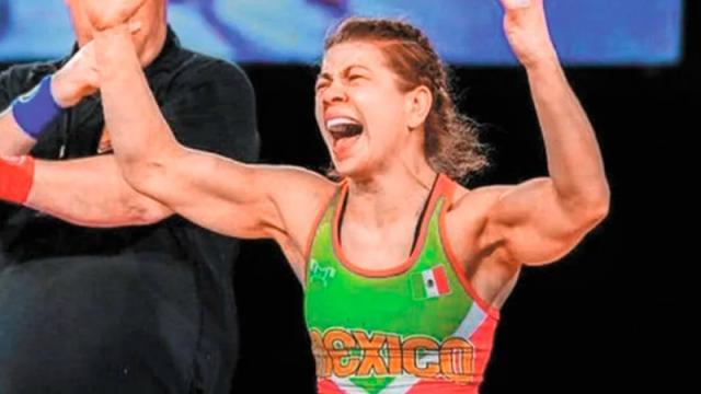 luchadora mexicana Jane Valencia