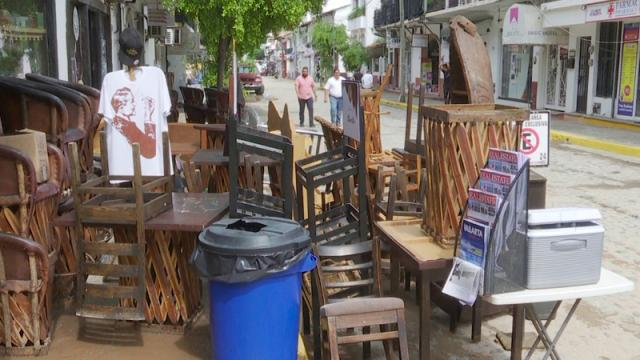 Reporta Canirac Vallarta cerca de 30 restaurantes afectados por huracán