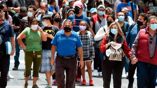 Se registran 21 mil 897 contagios y 761 muertes por Covid