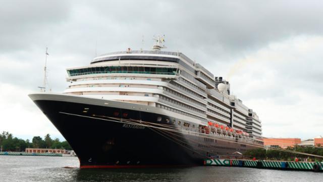 Arriba a Vallarta crucero Westerdam; estará aquí 16 días
