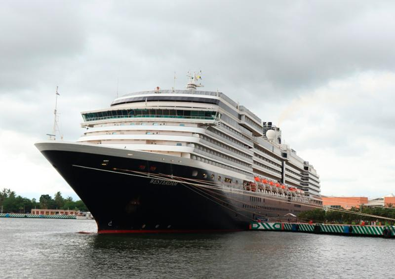 Up to Vallarta cruise ship Westerdam;  will be here 16 days