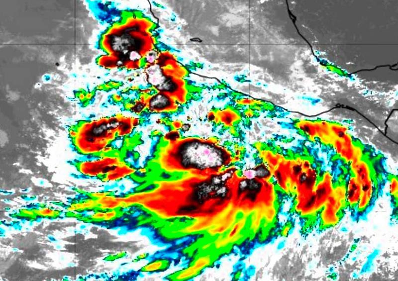 Se forma TT Nora, se esperan lluvias en Nayarit y Jalisco
