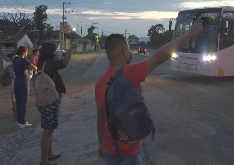 No se siguen protocolos en transporte público Vallarta-Bahía
