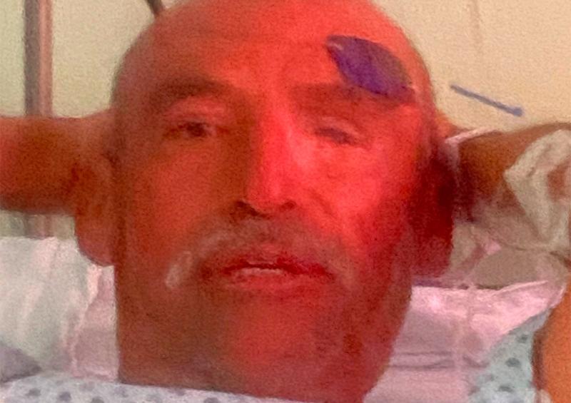 Adolfo Díaz Rodríguez, de 56 años, busca a su familia