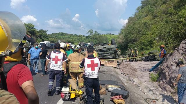 Accidente en la carretera Tepic-Guadalajara