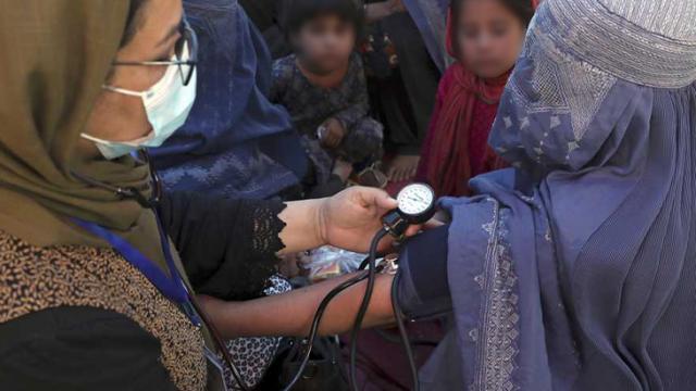 Insumos médicos para Afgnistán