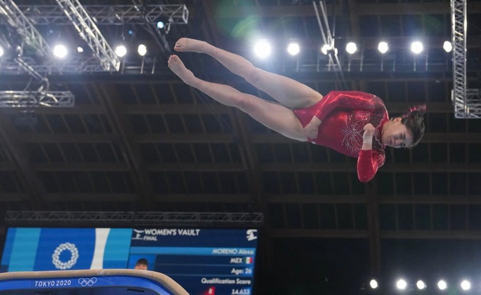 Alexa Moreno, cuarto lugar en la final