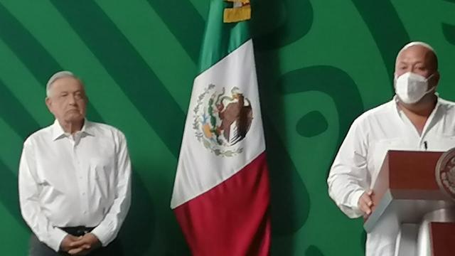 AMLO prometió inaugurar autopista a Vallarta