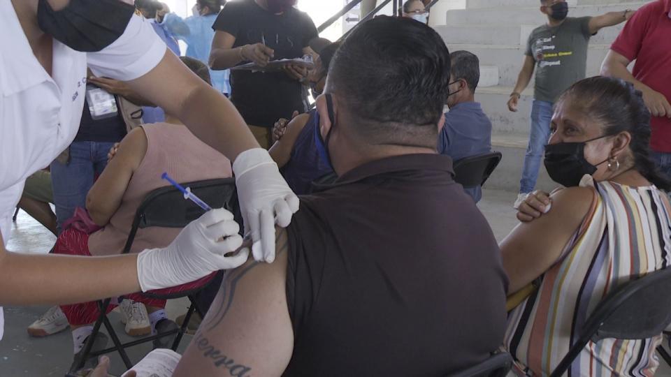 Aplicaron 4,600 vacunas en el módulo de La Lija