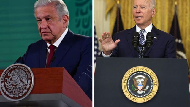 AMLO invita a Biden a visitar México en septiembre