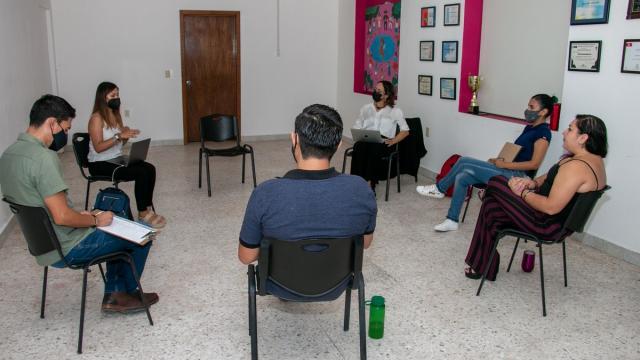 Se realizó una reunión entre áreas del organismo y la organización MENTTE CEDAT