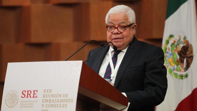 Despido de Jorge F. Hernández fue por ética: SRE
