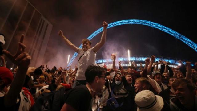 Inglaterra fue foco de infección por la Eurocopa 2020