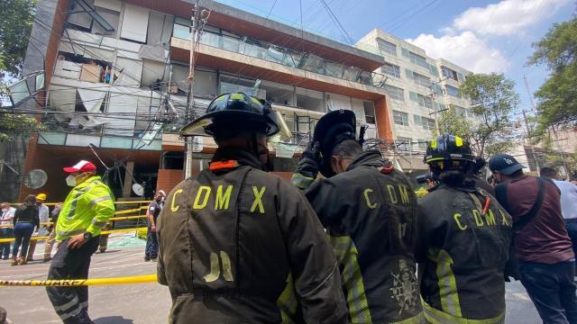 Explosión en la Ciudad de México