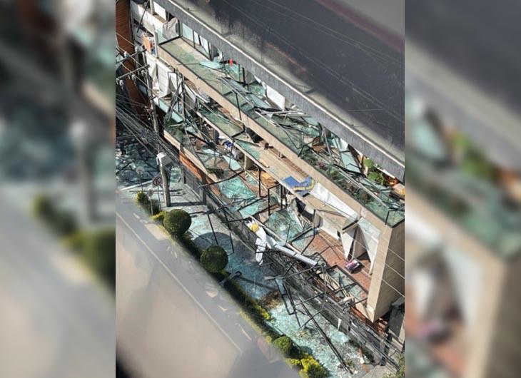 Explosión de unidad habitacional en la alcaldía Benito Juárez