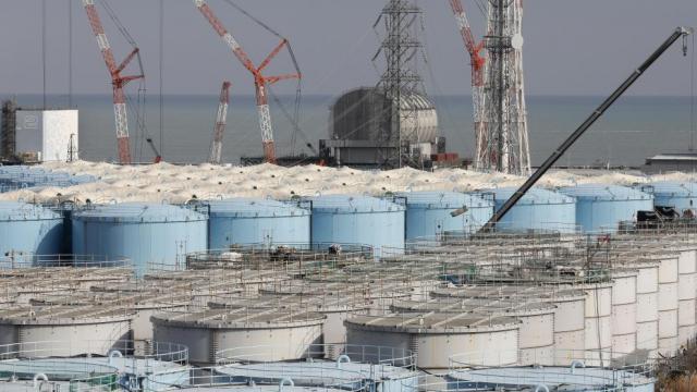 Japón busca liberar agua radiactiva al océano
