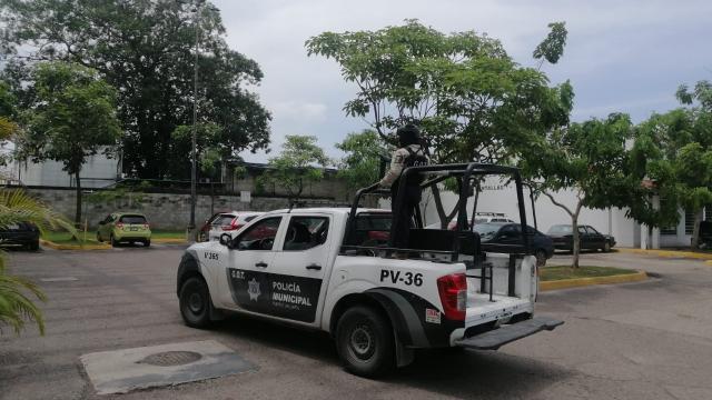 Grupo Táctico de la Policía realiza intensa vigilancia