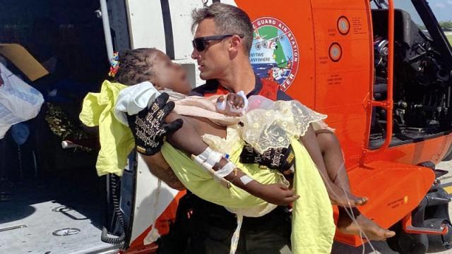 Víctimas del terremoto en Haití