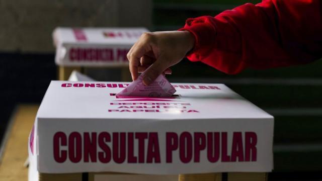 Hubo 7.11% de participación en Consulta Popular INE