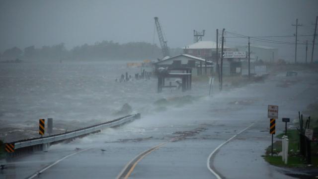 Huracán Ida en Luisiana